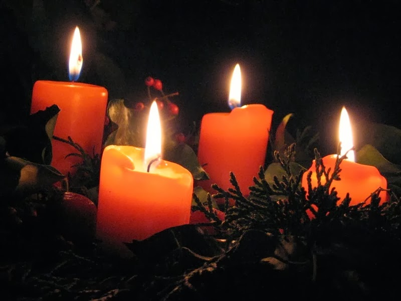Blog de la parroquia de padr n i domingo de adviento - Velas adviento ...