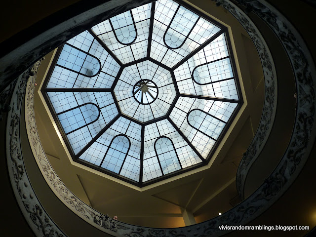 Glass Ceiling At Vatican City