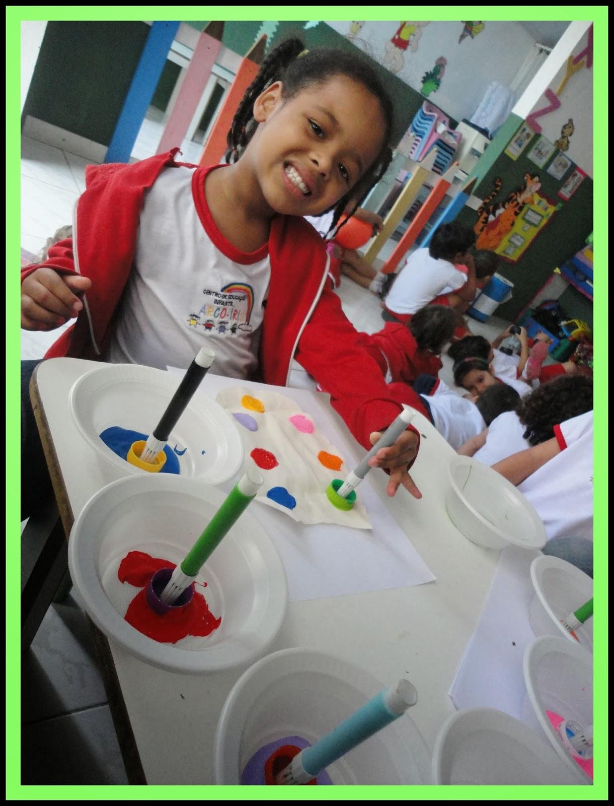 CENTRO DE EDUCAÇÃO INFANTIL ARCO ÍRIS: PROJETO: DESCOBRINDO O  #41B01B 1220 1600