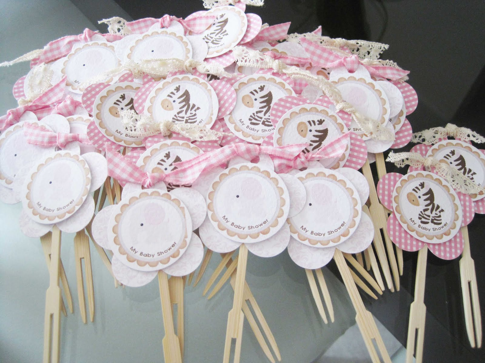 Moms angels decoracion mesa y recordatorios baby shower ni a for Decoracion baby shower nina