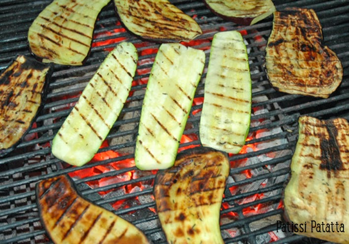 patissi patatta aubergines et courgettes au barbecue. Black Bedroom Furniture Sets. Home Design Ideas