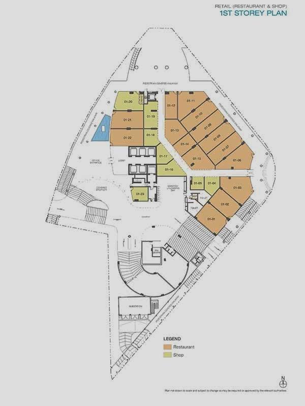 ARC 380 Commercial Shops Floor Plan