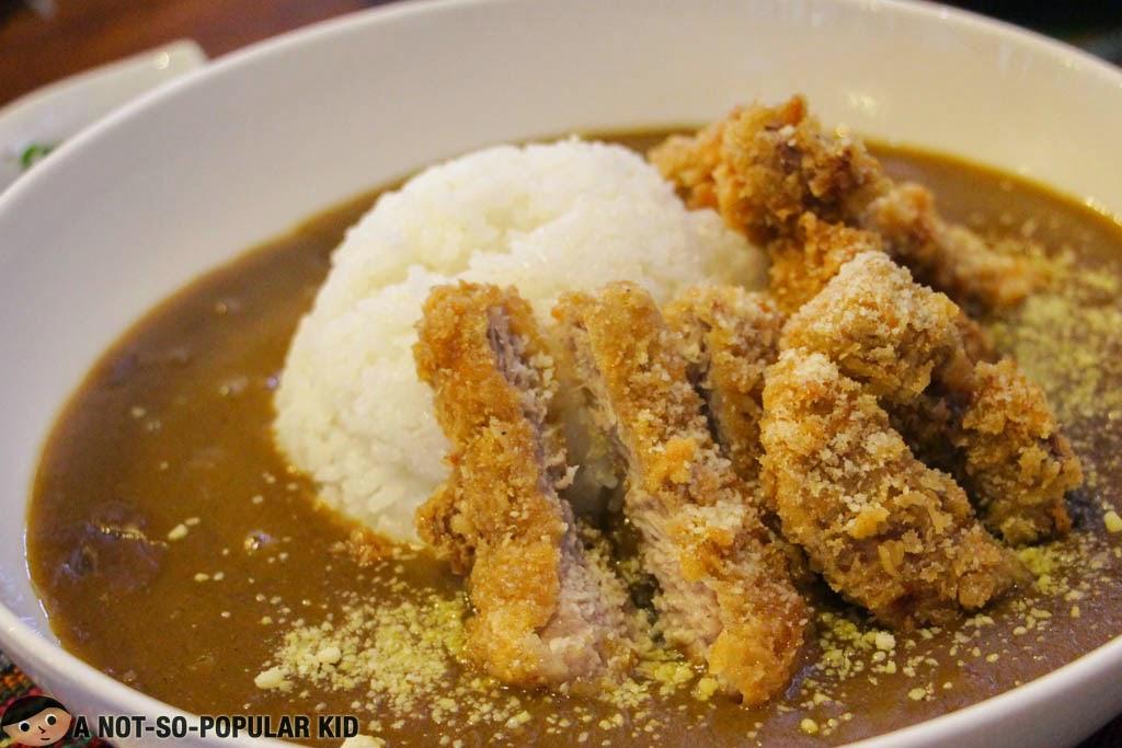 Katsu Curry of Chaya Japanese Restaurant