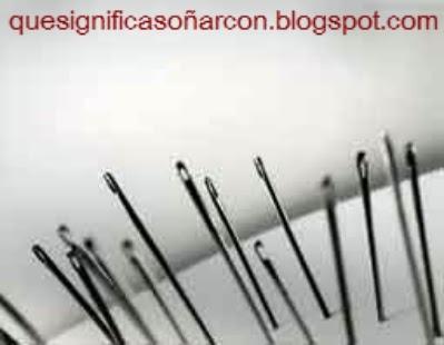 por que soñamos con agujas