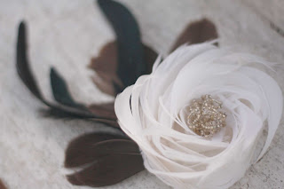 How to make feather flowers