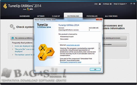 TuneUp Utilities 2014 14.0.1000.145 Final Full Keygen