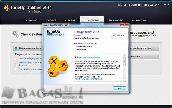 TuneUp Utilities 2014 14.0.1000.145 Final Full Keygen 3