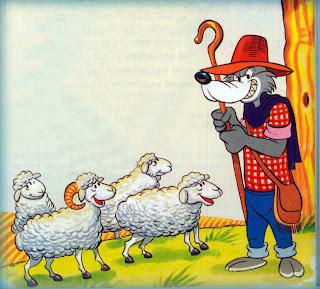 Fabula sobre el Engaño y la Mentira: El Lobo disfrazado de Pastor -  Cuento para niños