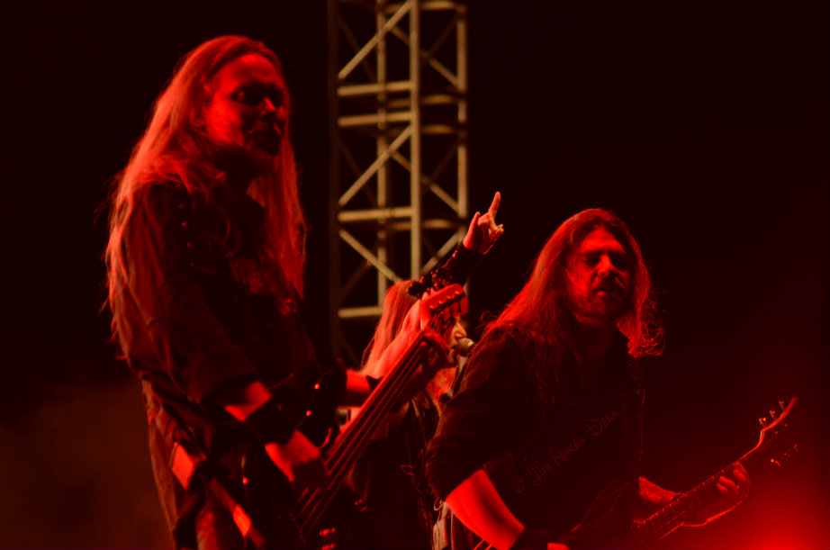 Wolf, the heavy metal band from Sweden in Bangalore, India - Jim Ankan photography