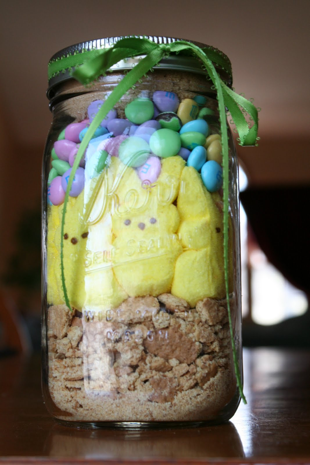 Maddycakes Muse: Peeps S'mores in a Jar