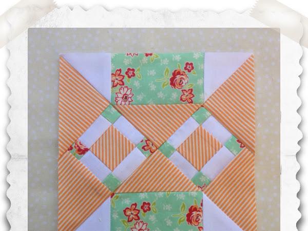 Chatelaine- Free BOW Sampler Quilt Block 63