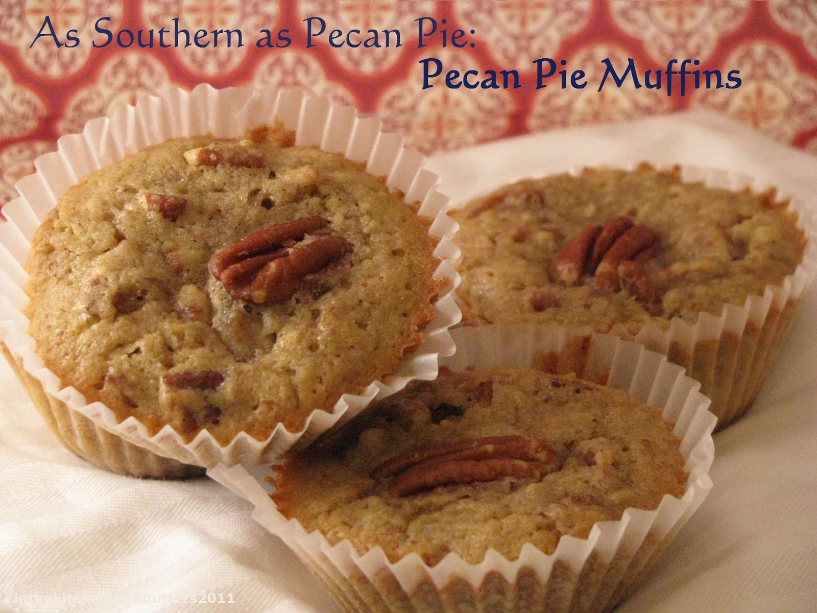 In The Kitchen with Butters: Pecan Pie Muffins