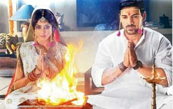 Genelia D'Souza is married to John Abraham
