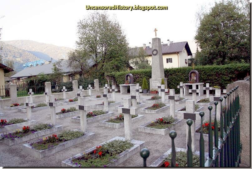 Cossack cemetery Judenburg massacre red army