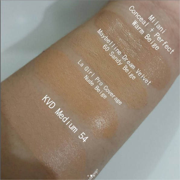 REVIEW WITH SWATCHES   LA GIRL COSMETICS PRO COVERAGE HD
