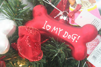 Red Dog Ornament