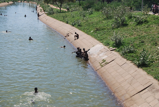 teens swimming in madurai