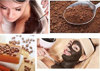 manfaat kopi untuk masker wajah dan scrub tubuh