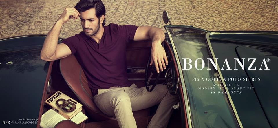 BonanzaSpring Summer2014ForMen 2  - Bonanza Pima Cotton POLO Shirts 2014 -2015 For Men