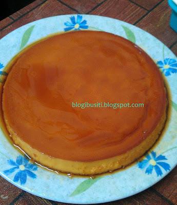 puding karamel mudah