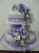 Wedding Cake - 2 Tiers