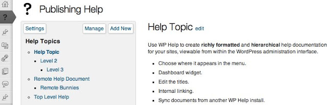 "Include a ""Getting Started"" Guidence in the WordPress Admin"