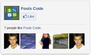 Customizing Facebook Like Box Widget Foulscode
