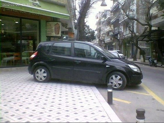 Λόγω ελλείψεως θέσεων στάθμευσης;