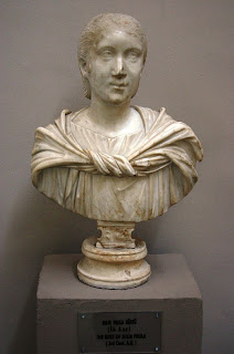 Julia Cornelia Paula, esposa de Heliogágalo  durante 219-220 d.C. (2)