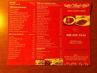 vc menu wangs kitchen milpitas