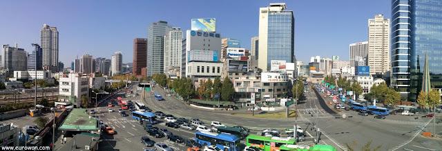 Namdaemun desde la Estación de Seúl