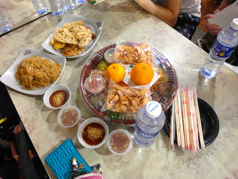 Chinatown Food Street Supper Reunion Event 2015 Yu Sheng Lunarrive Blog