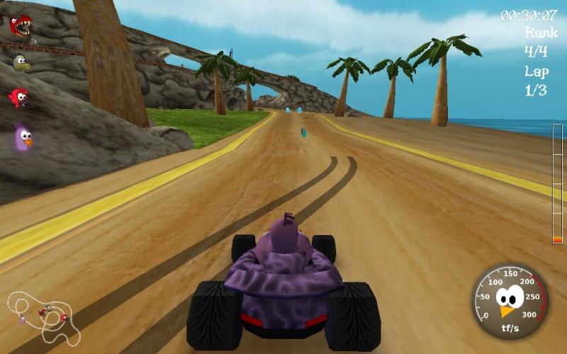 SuperTuxKart: Game balapan seru di Ubuntu/Linux