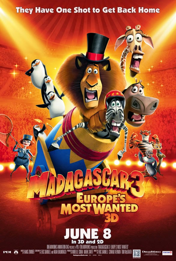 Madagascar 3 Europe's Most Wanted Full Movie Tamil Dubbed Watch Online