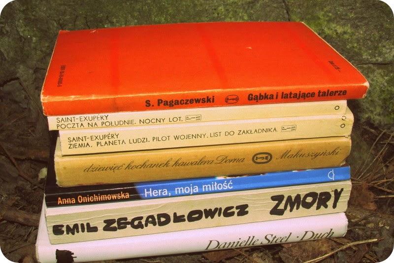 Książki z odzysku, czyli jak tłumaczę swój nieuleczalny książkoholizm!