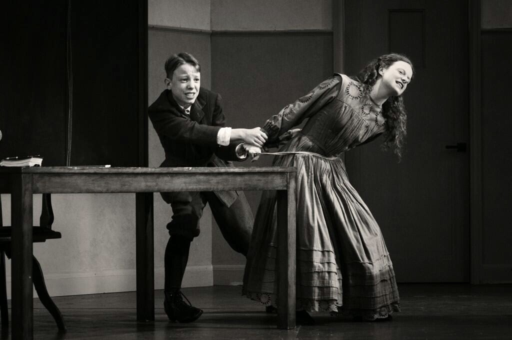 Dominic Lynch and Rosie Lomas - Turn of the Screw - Opera Holland Park