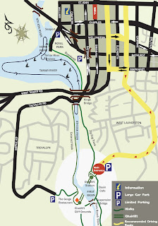 CATARACT GORGE RESERVE TOURIST MAP