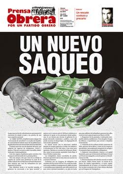 - - - - - - - Prensa Obrera Nº 1502 - - - - - - -