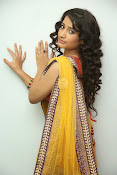 santoshini sharma photos in half saree-thumbnail-10