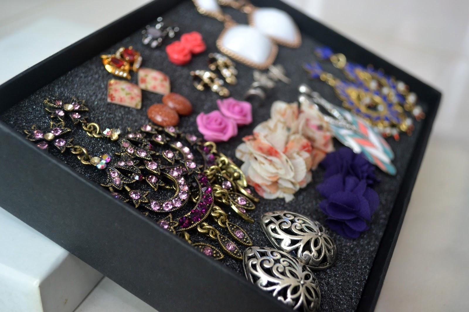 diy stud earrings holder tutorial an everyday affair
