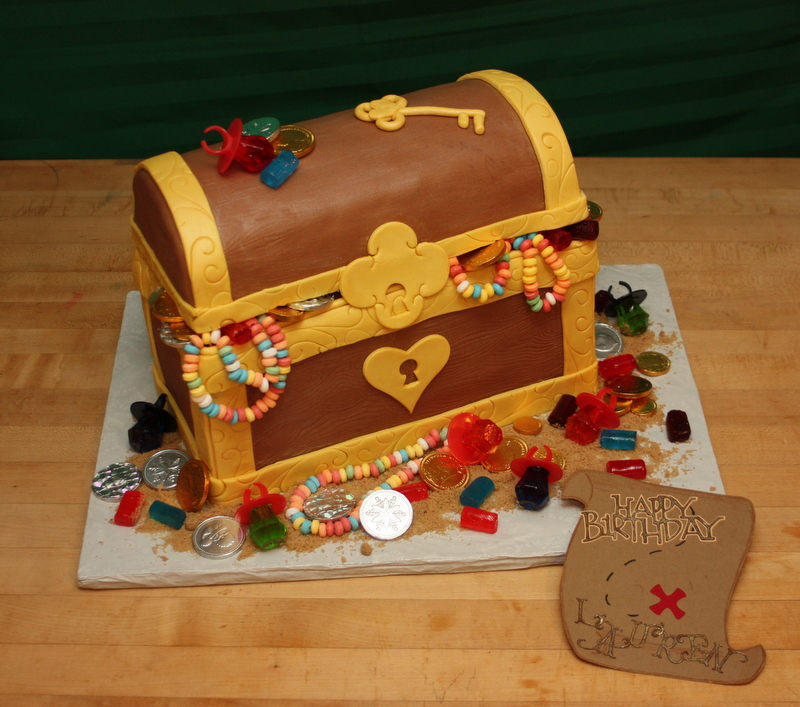 A Garden Of Cakes Laurens Birthday Treasure Chest