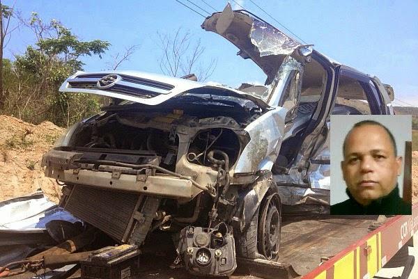 Sargento da Polícia Militar morre em grave acidente hoje na Via Lagos