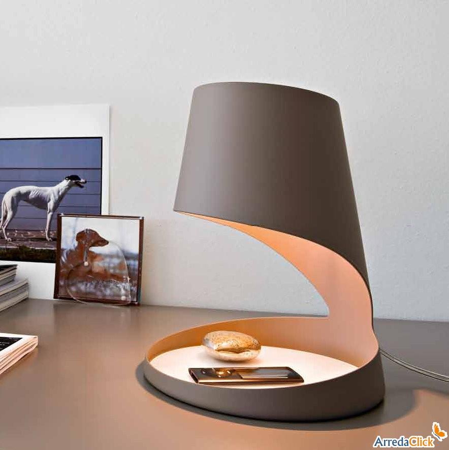 Arredaclick il blog sull 39 arredamento italiano online lampade da tavolo multiuso - Lampade da tavolo particolari ...