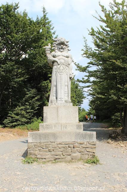 socha Radegasta // Radegast statue