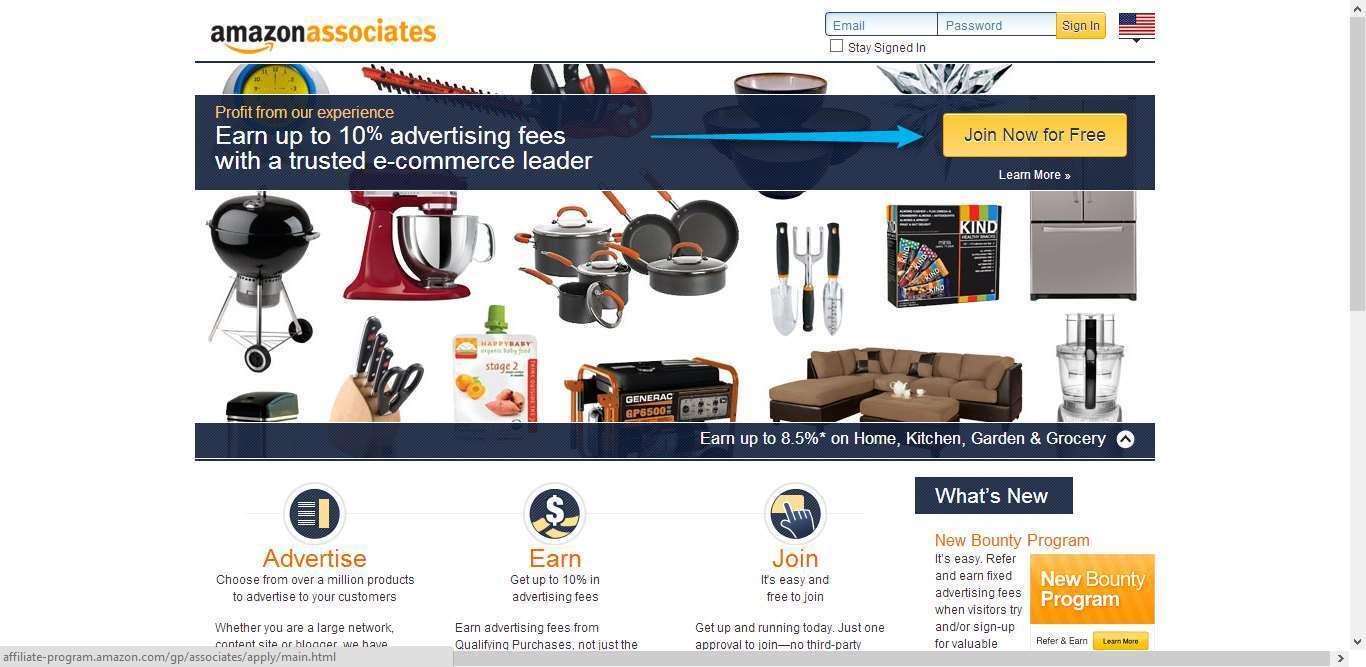 Bisnis Online Affiliate Amazon 1