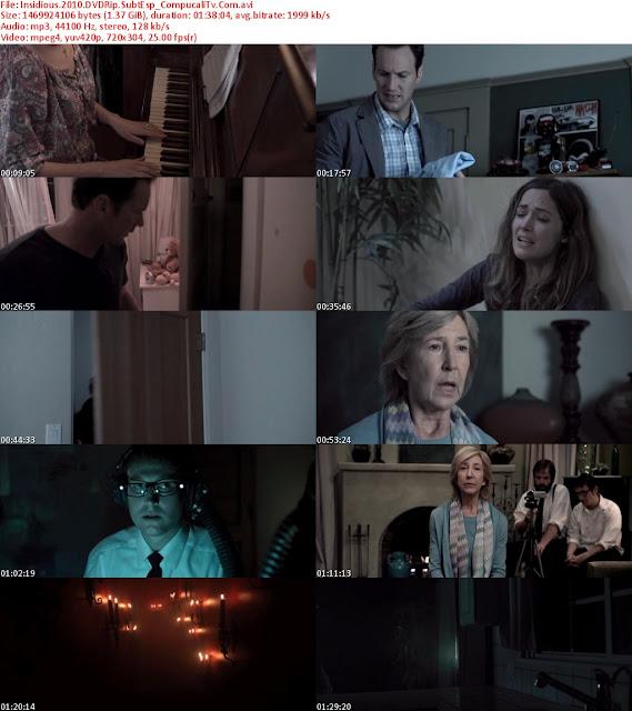Insidious 2011 DVDRip Español Latino Descargar 1 Link