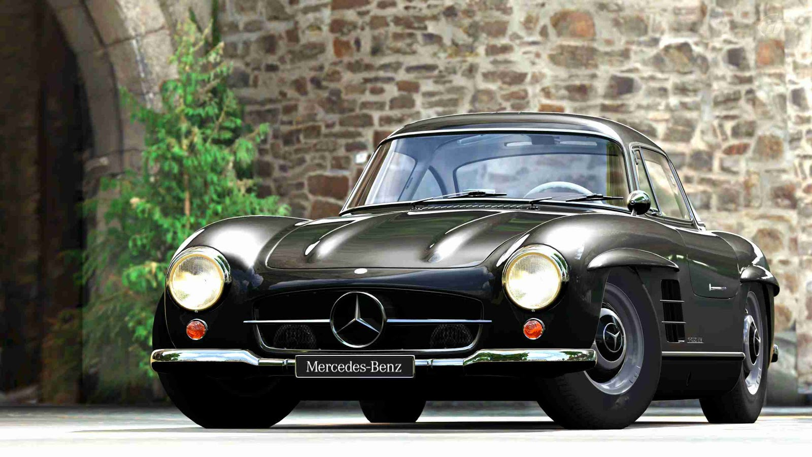 The old mercedes benz model 300 sl welcome to expert drivers