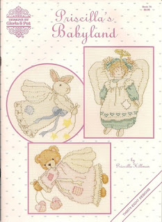 Priscilla's Babyland Gloria & cross Stitch pattern