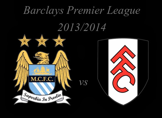 Manchester City vs Fulham Barlays Premier League 2014