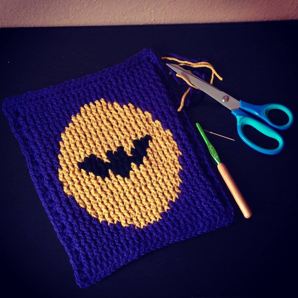 SPRE: Patterns & Design: Crochet Bat Graph